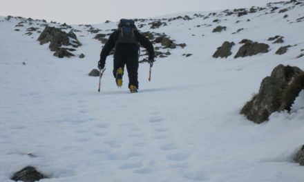 Warning issued to Snowdonia mountaineers during the winter weather