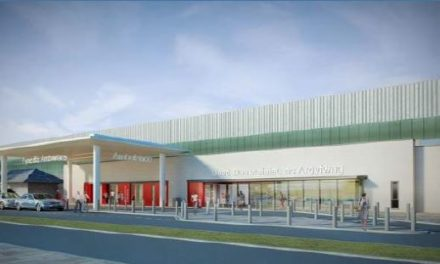£14m Construction work at Ysbyty Gwynedd Emergency Department progressing well