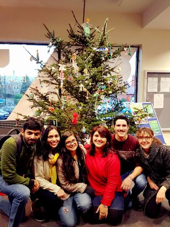 Bangor Students Go Green with an International Christmas Tree