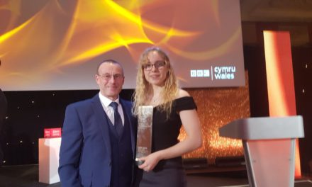 Catrin Jones from Bangor wins Young Sportswoman of the Year Award