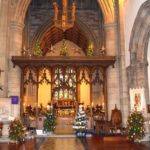 Advent Angel Installation at Bangor Cathedral