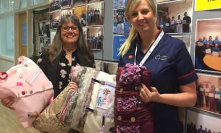 Bangor mental health students upcycle cushions to help dementia patients