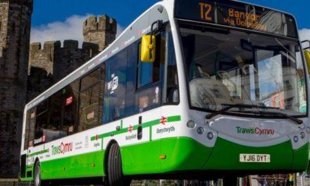 77% increase in passengers using free TrawsCymru Aberystwyth to Bangor bus service