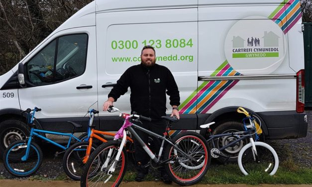 Every little helps – New Maesgeirchen cycling club appeal for Tesco tokens