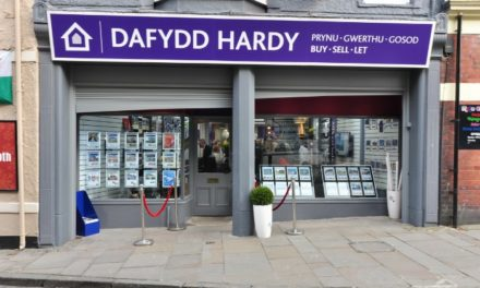 Dafydd Hardy Estate Agents wins Triple Gold for the second year running