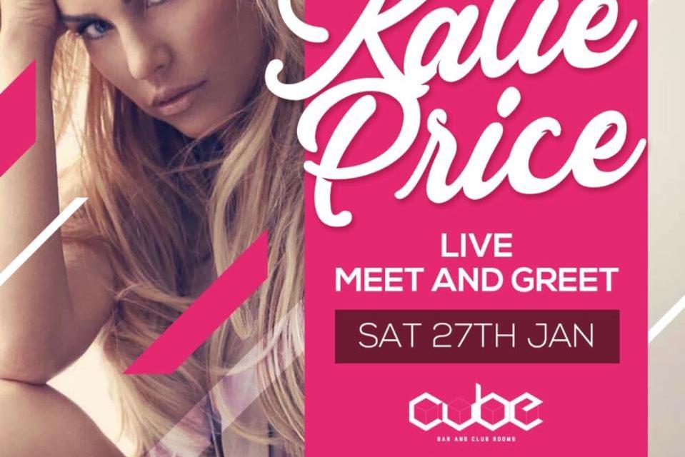 Katie Price to visit Cube Nightclub in Bangor