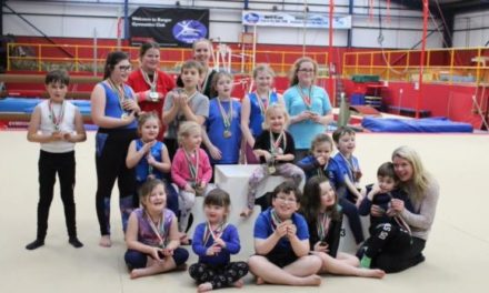 Bangor Gymnastics coach wins 'Transforming Lives Award'