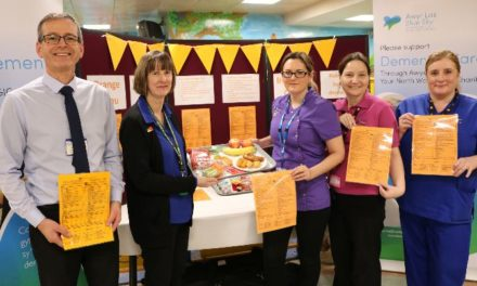 New finger food menu at Ysbyty Gwynedd benefits patients living with dementia