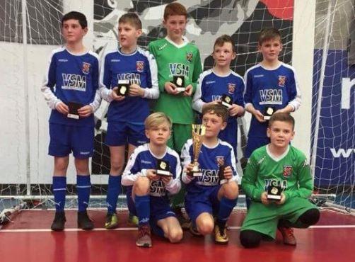 Bangor City Under-12's Crowned National Futsal Champions
