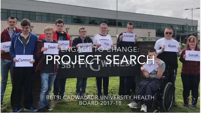Welcome to Project 'Search' at Ysbyty Gwynedd Bangor