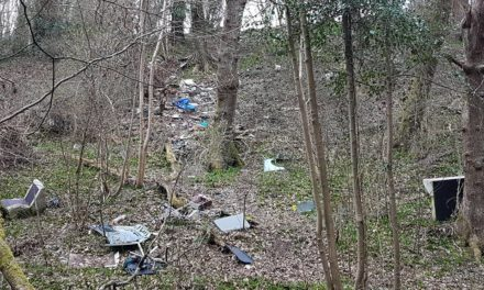 'Disgusting' Fly-tipping at Afon Cegin could cost £10,000 to clear