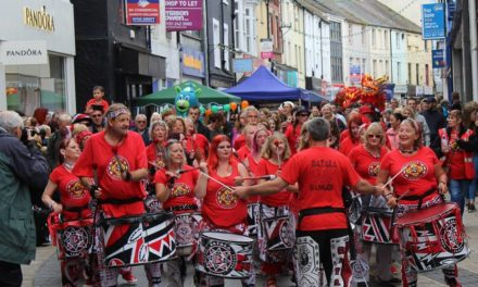 Samba Reggae drumming band Batala Bangor are looking for new members