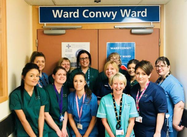 Former Raf Officer Praises Ysbyty Gwynedd Staff For