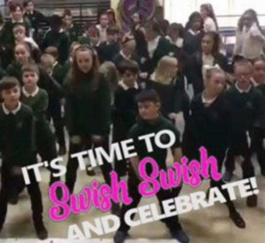 Awyr Las launch the 'Swish Swish' Challenge to celebrate 70 years of the NHS