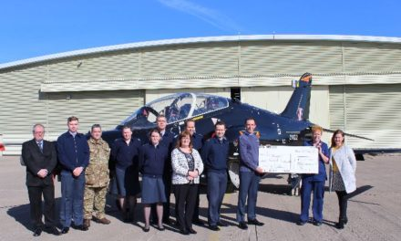 Ysbyty Gwynedd Emergency Department receives incredible donation from RAF Valley