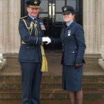 Former Ysgol Friars pupils surprised to meet up at RAF graduation