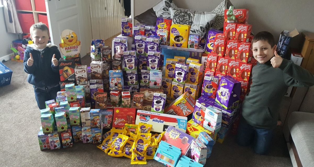 Bangor brothers 'Egg-cellent' idea brings Easter happiness to local children
