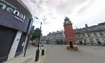 Man arrested after numerous criminal damage and burglary offences in Bangor