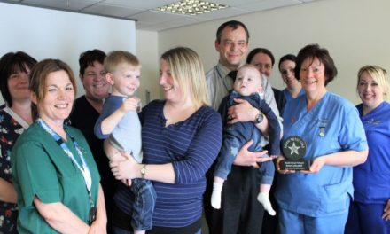 Children's Ward staff receive Betsi Star award for 'outstanding care'