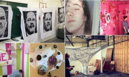 Coleg Menai's Art & Design show to open at Parc Menai