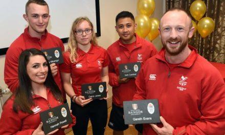 Bangor University congratulates Commonwealth Games athletes