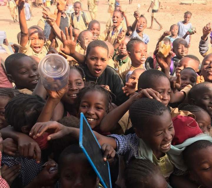 Local football club collects unwanted kit for Africa's poorest children