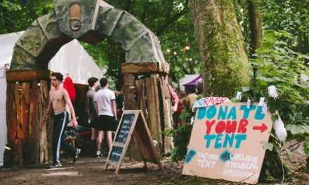 Gottwood Festival-goers donate tents & sleeping bags to help Bangor homeless