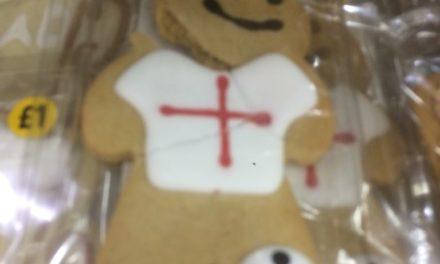 England World Cup Gingerbread Men Sabotaged at Bangor Morrisons