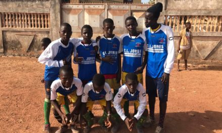 Penrhosgarnedd Junior Football Club Send Kits to Africa