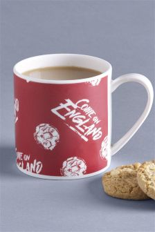 'Twitter Storm' after England mugs for sale in Next Bangor