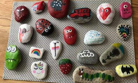 Bangor spreads kindness one rock at a time