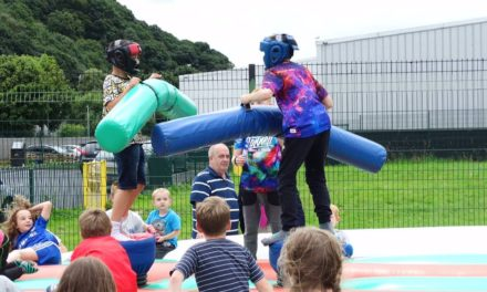Fun days at Coed Mawr Community Centre