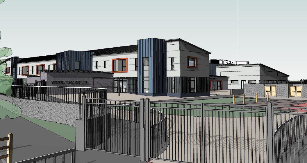 Work to start on new Ysgol y Garnedd