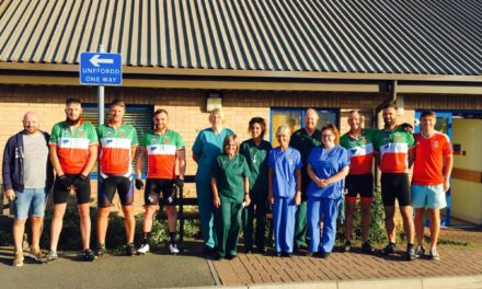 Cyclists set off from Bangor to Cardiff to 'Ride for Mel'