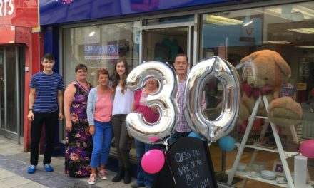Cancer Research UK celebrates 30 years of fundraising in Bangor