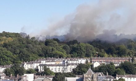 Fire service issue warning after several large fires in North Wales