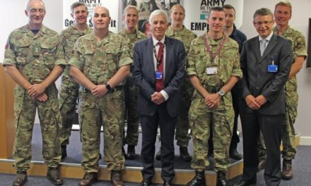 Health Board receives top award for supporting the armed forces