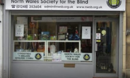North Wales Society for the Blind Charity Shop appeal for donations