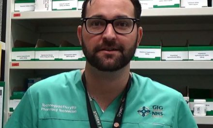 Ysbyty Gwynedd pharmacy technician in the running for Welsh Learner of the Year