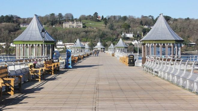 Join The World's Biggest Coffee Morning On Bangor Pier