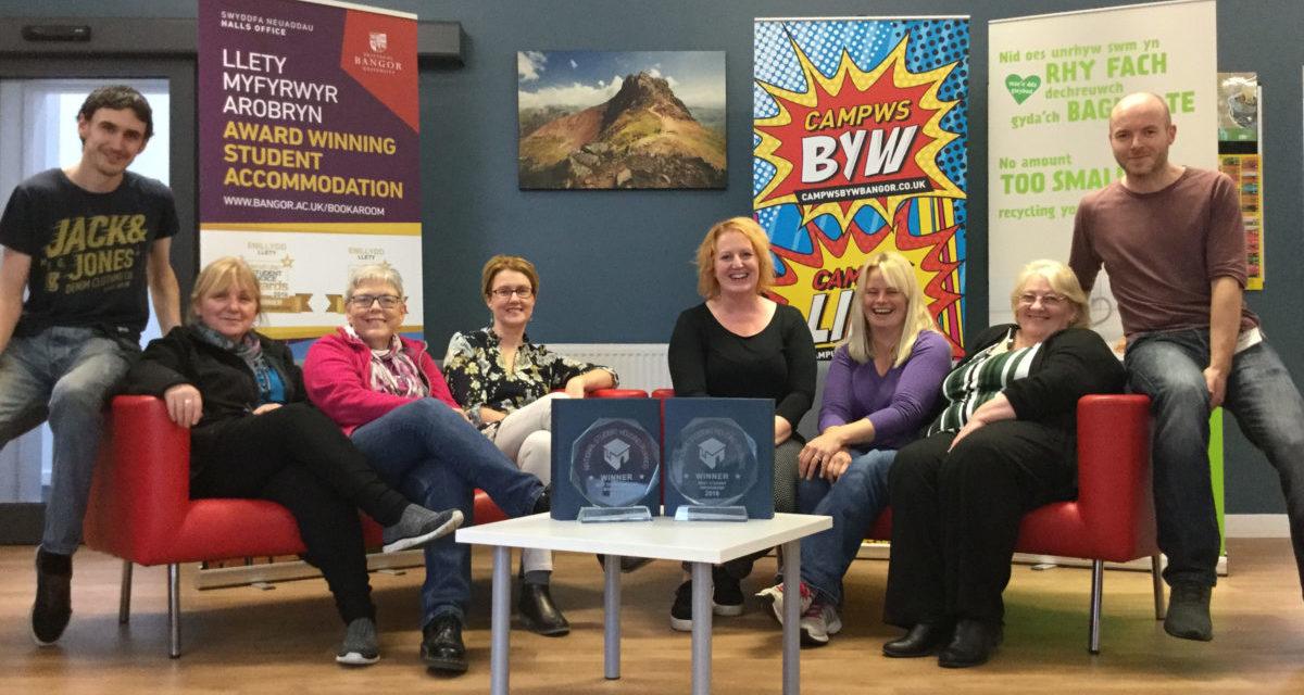 Bangor University wins National Student Housing Awards