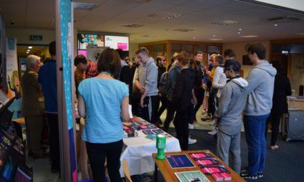 New Students Enjoy Coleg Menai's Freshers' Fair