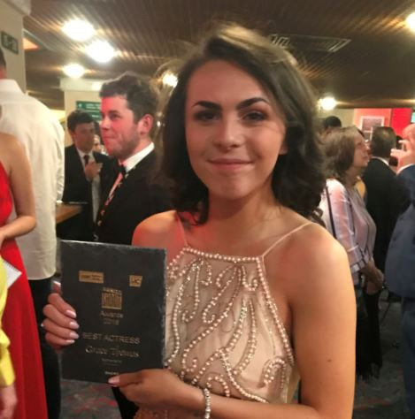 Coleg Menai Media Students win acting awards at Cardiff ceremony