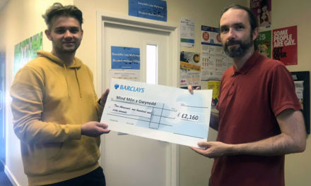 Coleg Menai Students raise thousands for local mental health charity