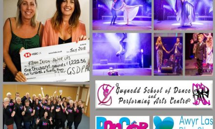 Bangor Dance School raise money for Team Irfon