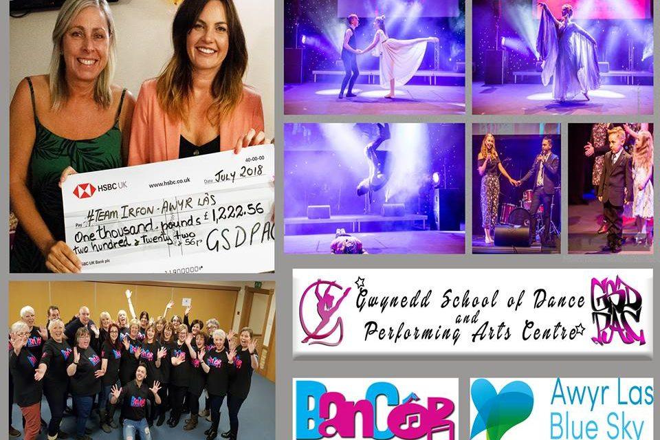 Bangor Dance School raise money for Team Irfon