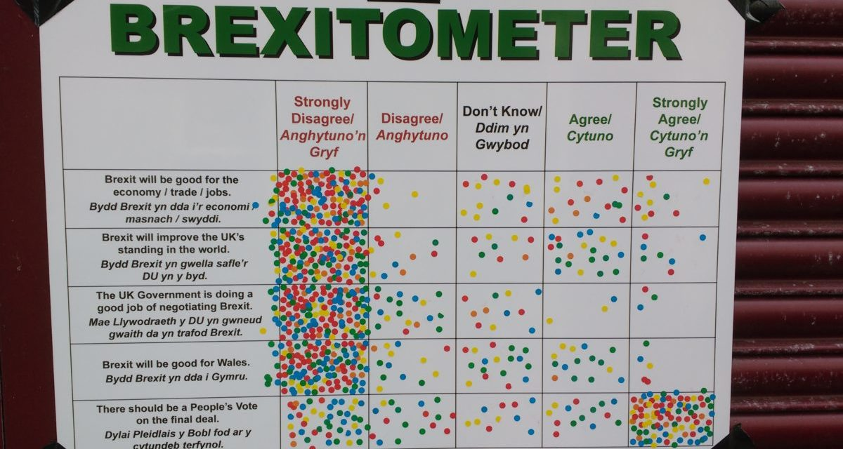 Bangor 'Brexitometer' shows majority want 'People's Vote' on Brexit