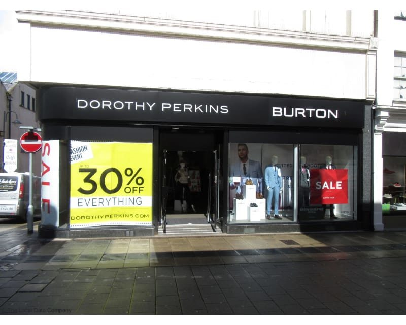Dorothy Perkins & Burton on Bangor High Street set to close