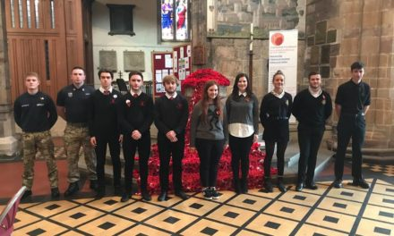 Youngsters remember Bangor war heroes at special remembrance service