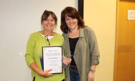 Ysbyty Gwynedd's Medical Director receives award for 'inspirational' leadership